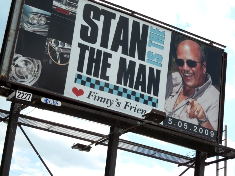 Stan's bday billboard
